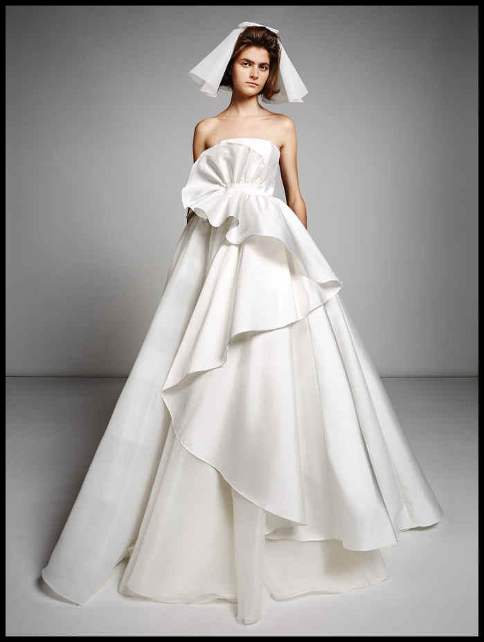 40 Best Wedding Dresses From Bridal Fashion Week Fall 2019 Lady