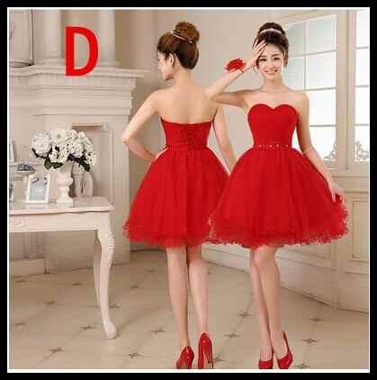 Plus Size 8 Design Short Red Prom Dresses 2015 One Shoulder ...