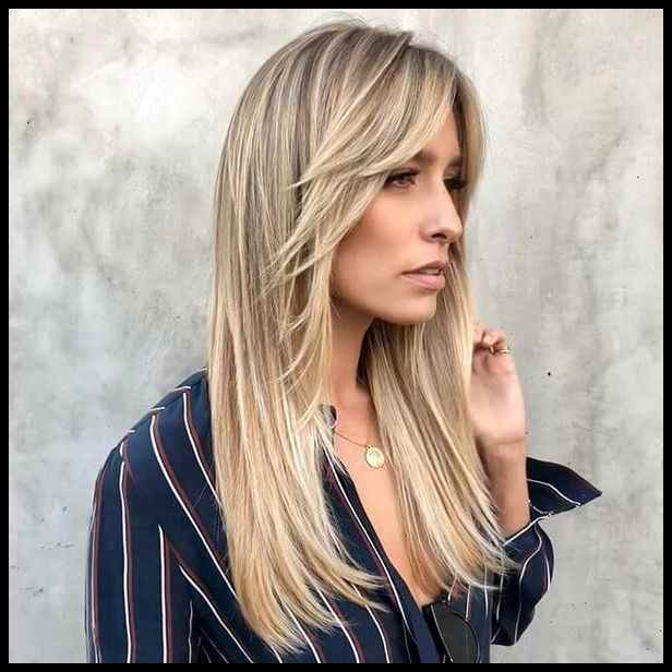 Layered Hairstyles With Bangs 2019 96