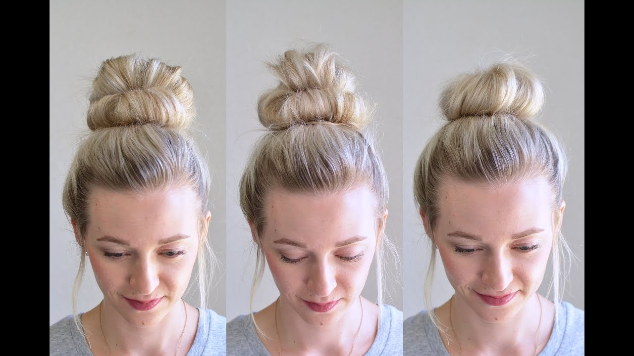 29 TUTORIALS TO HELP YOU GET THE PERFECT MESSY BUN