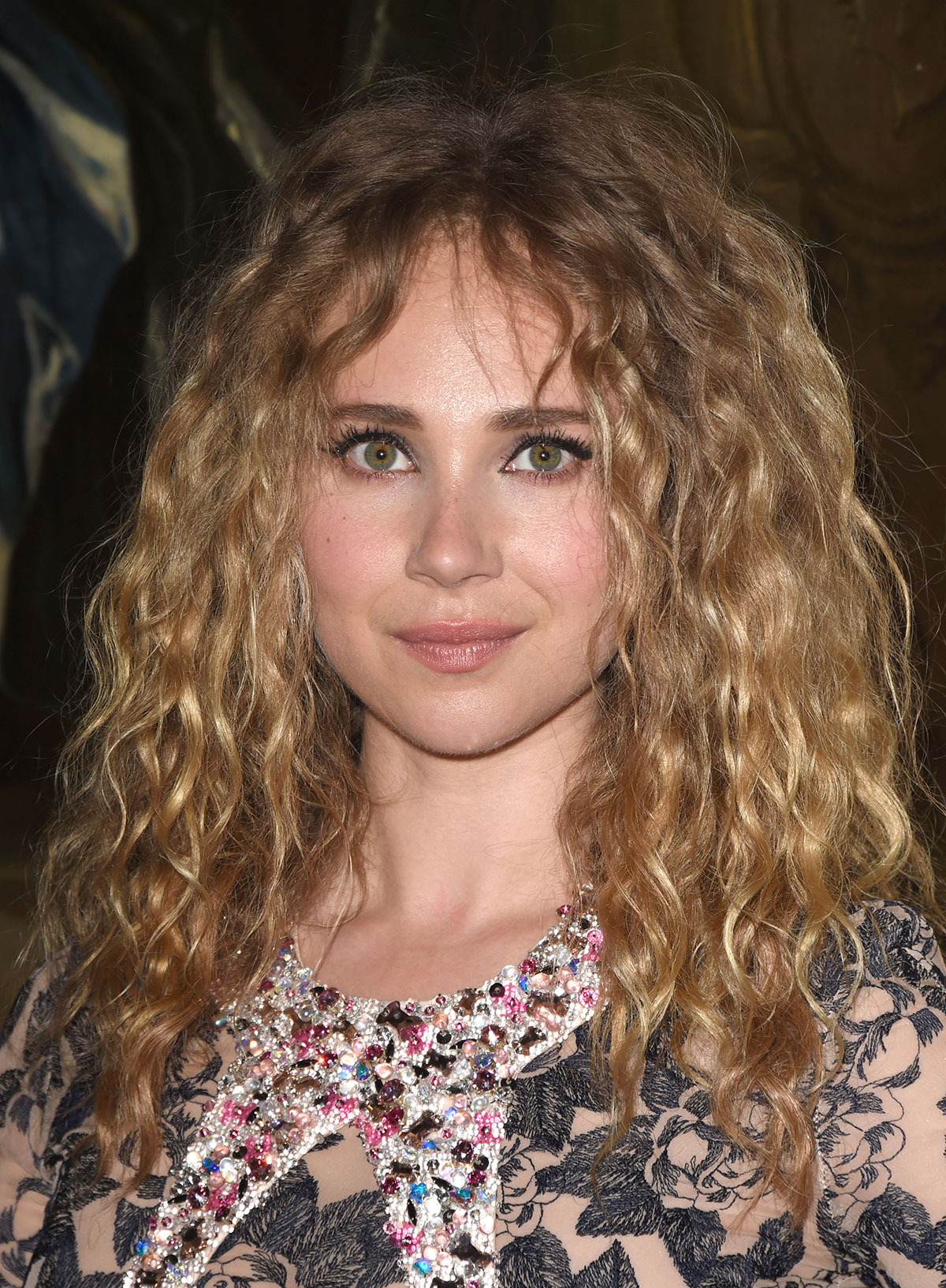 Curly Bangs Are Everywhere Right Now