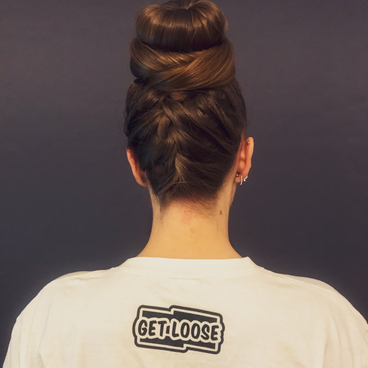 How to make a perfect bun and how to style it in four different ways