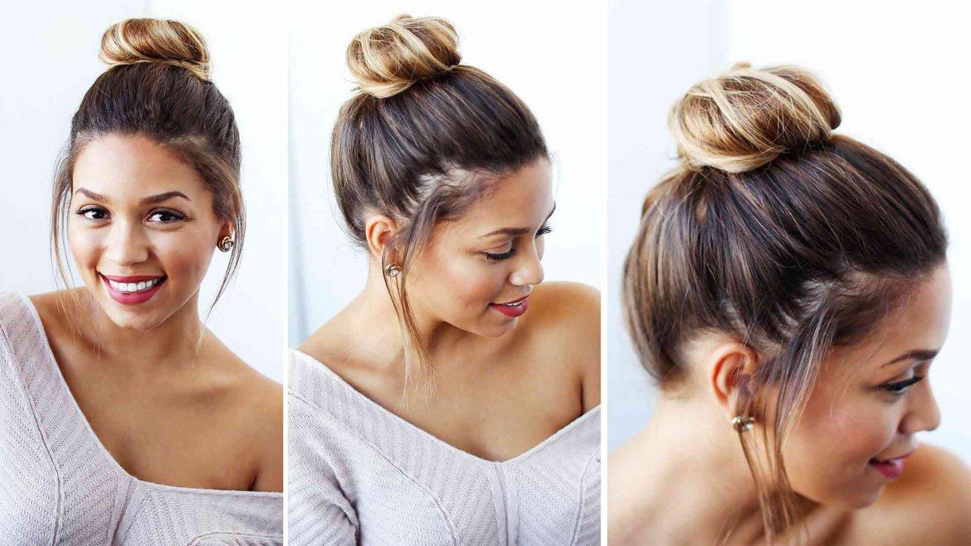 Quick & Easy Bun For Shorter Hair